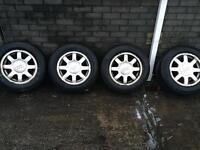 Audi alloy wheels for vw camper ?