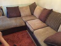 Corner sofa for sale. Used