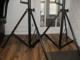 Mechanical Millennium Pro BS-2400 Tripod Wind-up Lighting Rig (Speaker Stands x 2)