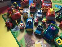 Huge bundle of boys cars