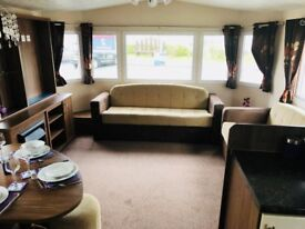 STUNNING PRE-OWNED STATIC CARAVAN, SITE FEES INCLUDED UNTIL 2019, DG,GCH,2 BED,2013 MODEL