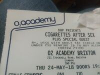 Cigarettes After Sex X2 tickets
