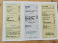 Have a look at what the Priory Food Co has to offer