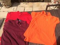 Ralph Lauren t shirts x3 size xl