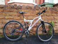 SHOGUN DUEL X 200 DUAL SUSPENSION MTB