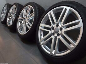 Original Audi WHEELS AND WINTER TYRES 245 40 20 '' RS6 C7 4G S-Line 8x20 ET25 4G0 601 025 AS