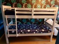 Barcelona bunk bed with free assembly service and delivery