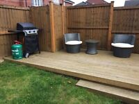 Barbecue plus wicker furniture set