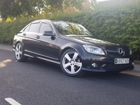 MERCEDES BENZ C CLASS C220 SPORT AMG AUTO * C350 AMG REP* DIESEL** FULLY LOADED FACELIFT MODEL **