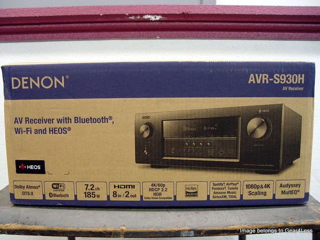 NEW DENON AVR-S930H 7.2CH RECEIVER 4K ULTRA HD BLUETOOTH HEO