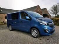 Vauxhall vivaro camper 1.6 bi-turbo 17plate low miles
