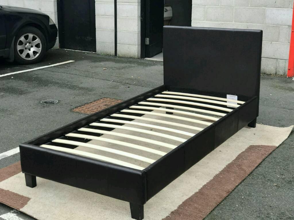 Faux Leather Single Bed Frame In Dunmurry Belfast Gumtree