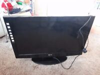 sanyo tv 32 inch screen with remote control
