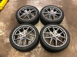"18"" Avante Garde Wheels 5x114.3 and Winter Tire Package 225/40R18 (Japanese Cars) Calgary Alberta Preview"