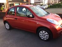 NISSAN MICRA 1.2 S 2005, 55 PLATE
