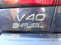 VOLVO V40 LPG Factory Fitted Gas top of the range car MOT Oct new disc & pads none runner p/x m bike
