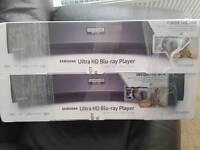 2 Samsung K8500 4K UHD HDR Ultra HD Blu-ray Players BNIB
