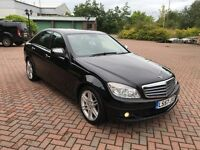 "2008 Mercedes C200 2.1 CDI Diesel 6 Speed - 18"" Amg Sport Alloys - FSH - Full Mot - Bargain C220 A4"