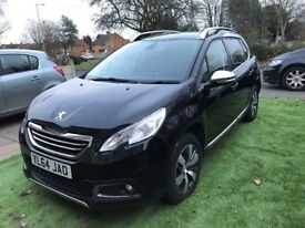2015 peugoet 2008 1.6 e-hdi , 2 owner ,only £20 pound taxa year