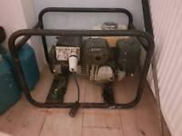 Honda gx160 5kva 110v/230v generator