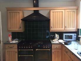 Rangemaster 110 leisure green cooker / stove