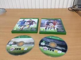 FIFA 15 AND FIFA 16 XBOX ONE