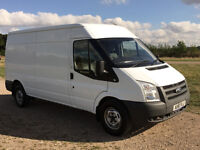 IMMACULATE CONDITION FORD TRANSIT 2.2 TDCI 2011 61 REG - LWB / MED ROOF - 6 SPEED - 115BHP - NO VAT