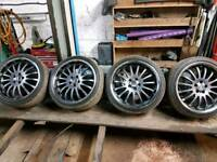 Ford Fitment 5x108 9x19 et45 Team Dynamics Equinox