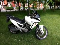 BMW F650 Funduro, White, New MOT