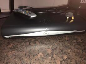 Sky HD box with remote controller