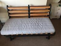 Ikea foldout futon sofabed