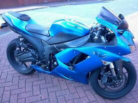 Zx6r 2009 in blue