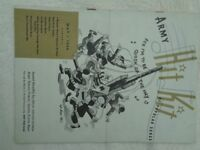 May 1944 Army Hit Kit of Popular Songs