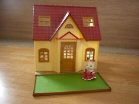 Sylvanian Families Cosy Cottage Starter Set with Freya Rabbit