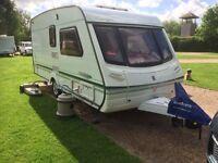 Abbey Belmont 470 SE 2001 2-Berth Caravan