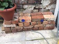 Free red bricks for pick up