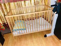 New baby cot