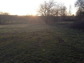 About 2 acres of grazing land available to rent in Blandford COMES WITH FISHING RIGHTS