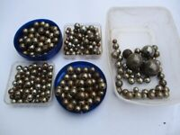 Quantity of Steel Ball Bearings, Various Sizes, Approx 295 Total - £5 The LOT - COLLECT ONLY