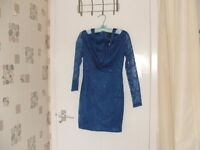 Lovely blue party/evening dress