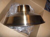New York style metal lampshade (brand new)