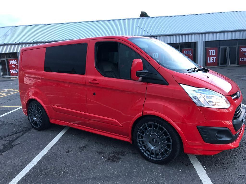 Ford transit custom sport 155 px or swap 4x4 Q7  Range Rover  X5 or pick up  | in Cumbernauld, Glasgow | Gumtree
