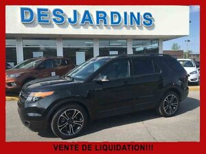 2015 Ford Explorer 4WD Sport MAGS SPORT/TRES PROPRES/CUIR /TOIT