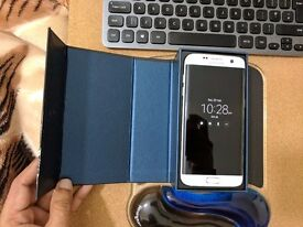 SAMSUNG S7 EDGE ++PEARL WHITE +32GB +UNLOCKED ++YES BRAND NEW+YES WITH PROOF OF PURCHASE
