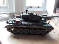 1/16 scale Radio Controlled Snow Leopard Tank - AS NEW!!