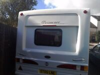 Bessacarr cameo caravan 2 berth