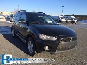 2010 Mitsubishi Outlander LS **V6, 4X4, BLUETOOTH, A/C**
