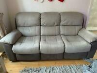 Sofa/Armchairs with Electric Recliners and USB Ports