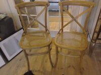 Adlington Bentwood chairs x4