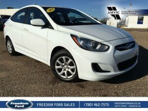 2014 Hyundai Accent Air Conditioning, Manual Transmission